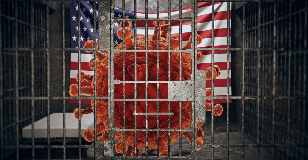 Coronavirus transmission in jail.
